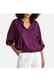 Риза La Redoute Collections LRD-GFX514-7705 Виолетов