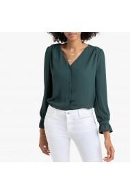 Блуза La Redoute Collections GGO030-9913 зелено