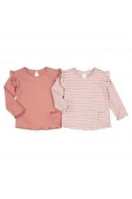 Set 2 bluze La Redoute Collections GHU340 roz