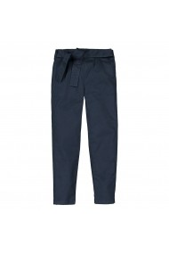 Pantaloni Chino 3-12 ani La Redoute Collections GHS079 bleumarin - els