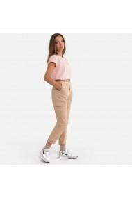 Pantaloni 10-18 ani La Redoute Collections GHS853 bej