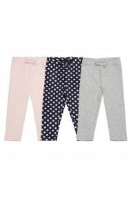 Set 3 perechi pantaloni La Redoute Collections GFN052 multicolor