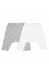 Set 2 perechi de pantaloni trei sferturi La Redoute Collections GFN348 ecru
