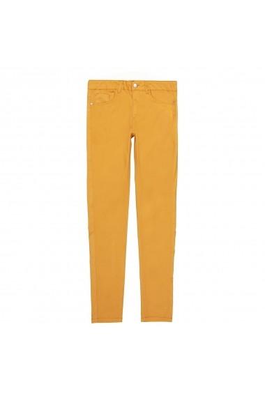 Pantaloni La Redoute Collections GFN976 galben