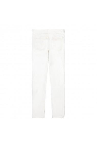 Pantaloni La Redoute Collections GFN977 alb