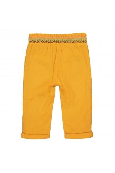 Pantaloni trei sferturi La Redoute Collections GFP641 galben