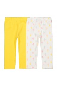 Set 2 pantaloni La Redoute Collections GFW749 multicolor