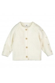 Cardigan La Redoute Collections GHU314 alb