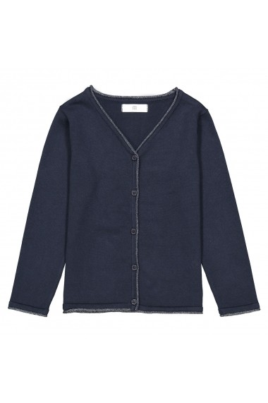 Cardigan La Redoute Collections GFT578 bleumarin