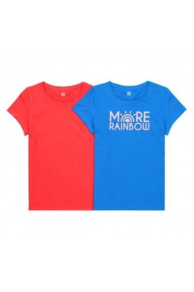 Set 2 tricouri La Redoute Collections GFN722 Albastru