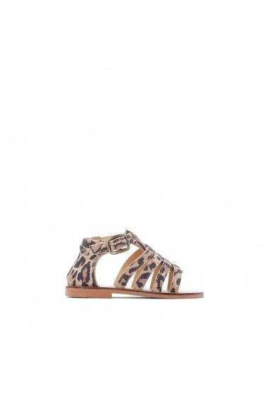 Sandale La Redoute Collections GGF968 animal print
