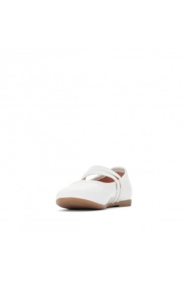 Pantofi cu toc La Redoute Collections GEY592 alb