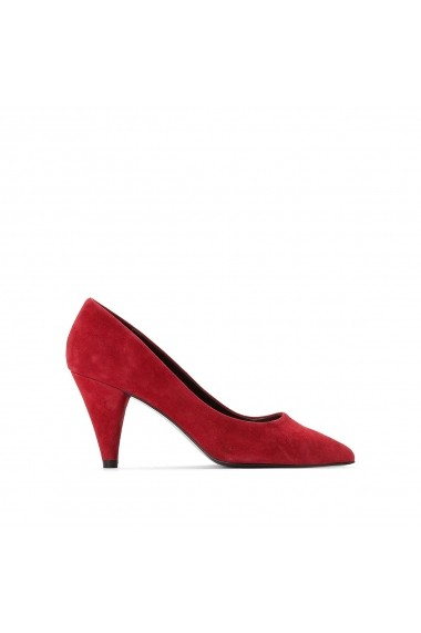 Pantofi cu toc La Redoute Collections GER308 rosu