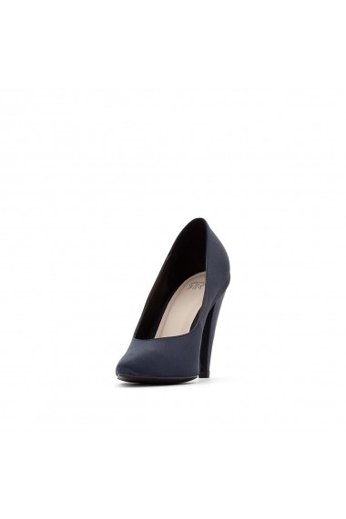 Pantofi cu toc La Redoute Collections GER339 bleumarin