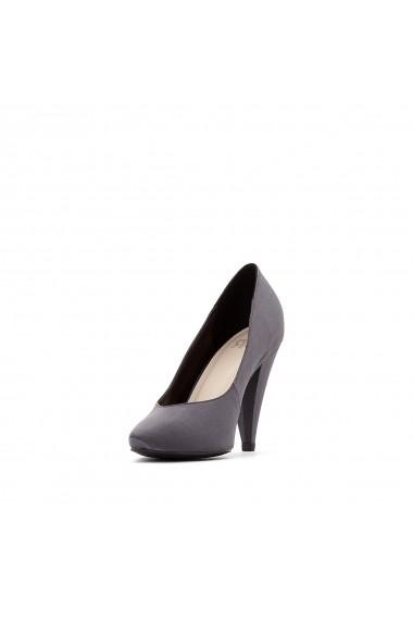 Pantofi cu toc La Redoute Collections GER339 gri