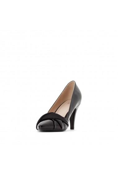 Pantofi cu toc La Redoute Collections GER657 negru - els