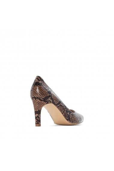 Pantofi cu toc La Redoute Collections GGO177 animal print