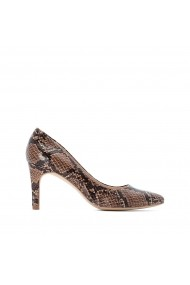Pantofi cu toc La Redoute Collections GGO177 animal print