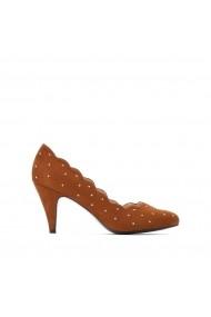 Pantofi cu toc La Redoute Collections GGP328 bej