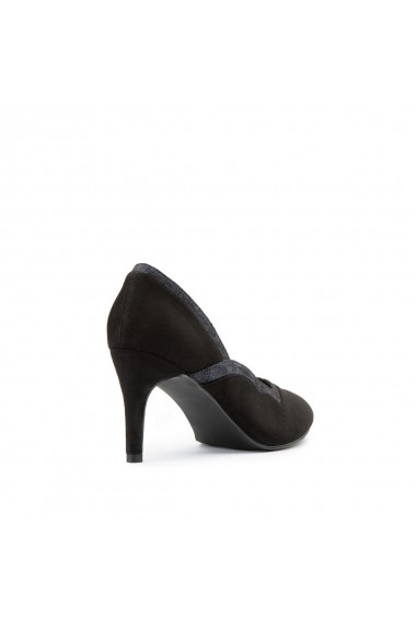 Pantofi cu toc La Redoute Collections GGP340 negru