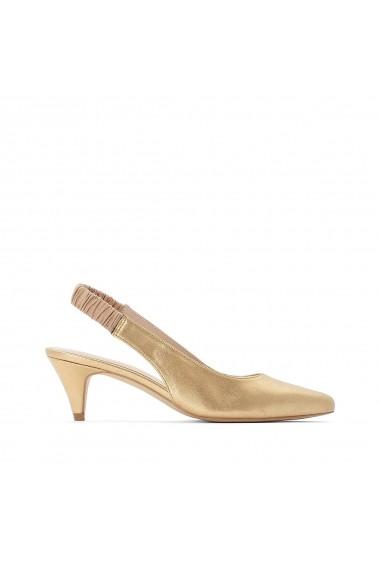 Pantofi cu toc La Redoute Collections GGP734 auriu