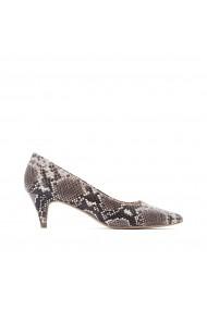 Pantofi cu toc La Redoute Collections GGP736 animal print