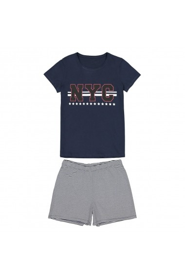 Pijama La Redoute Collections GFO045 bleumarin