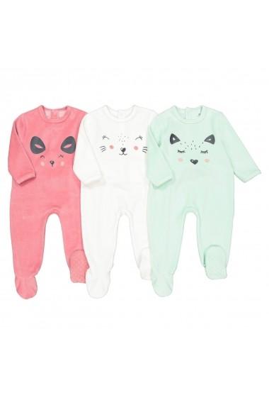Set 3 pijamale La Redoute Collections GGD002 multicolor