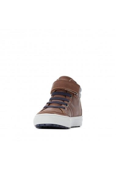 Pantofi sport La Redoute Collections GGG462 maro