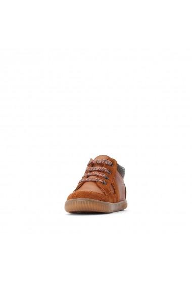 Pantofi sport La Redoute Collections GGP978 maro