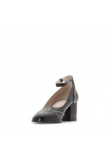 Pantofi cu toc La Redoute Collections GER013 negru