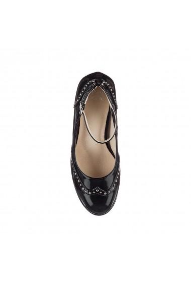 Pantofi cu toc La Redoute Collections GER013 negru - els
