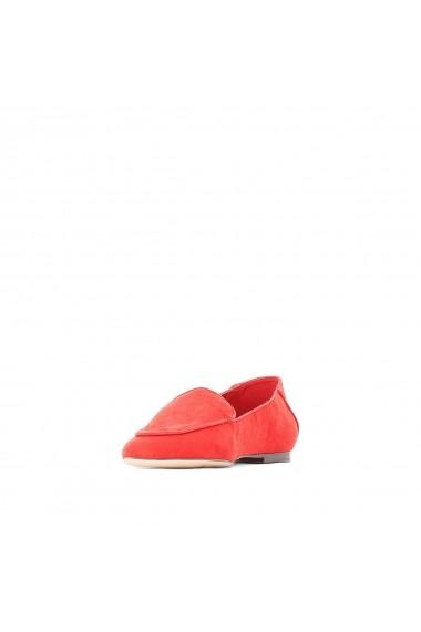 Pantofi cu toc La Redoute Collections GFY961 rosu