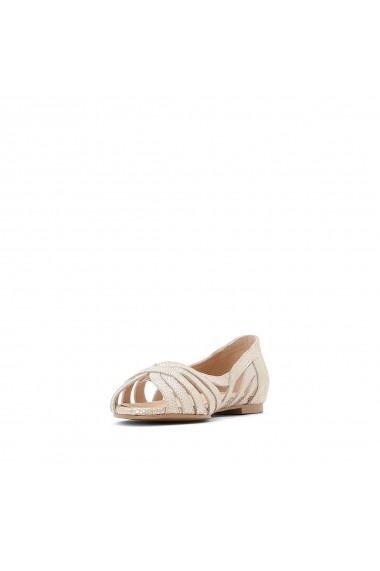 Pantofi cu toc La Redoute Collections GFY988 auriu