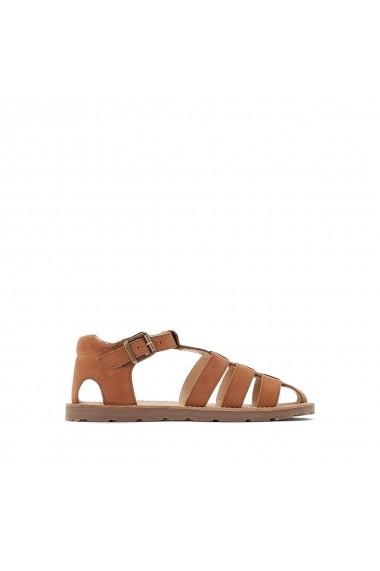 Sandale La Redoute Collections GFO354 maro