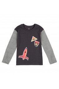 Bluza La Redoute Collections GGG414 gri - els