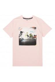 Tricou La Redoute Collections GFU381 roz pudra