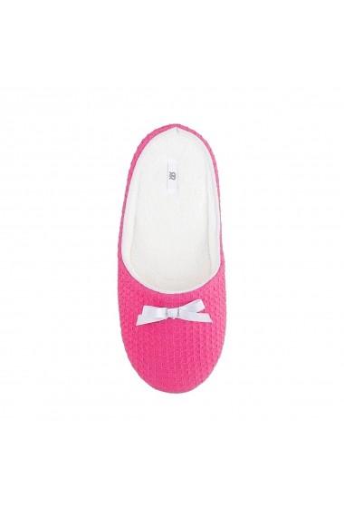 Papuci de casa La Redoute Collections GFZ763 roz