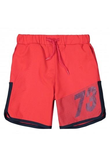 Pantaloni scurti La Redoute Collections GFO195 rosu
