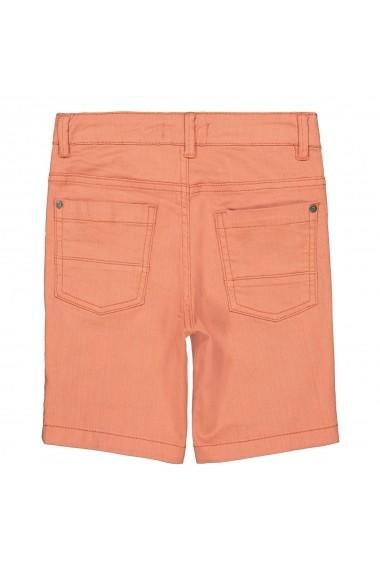 Pantaloni scurti La Redoute Collections GFR992 portocaliu