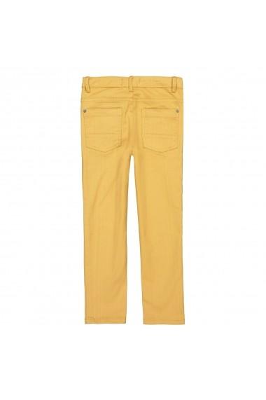 Pantaloni La Redoute Collections GFS016 galben