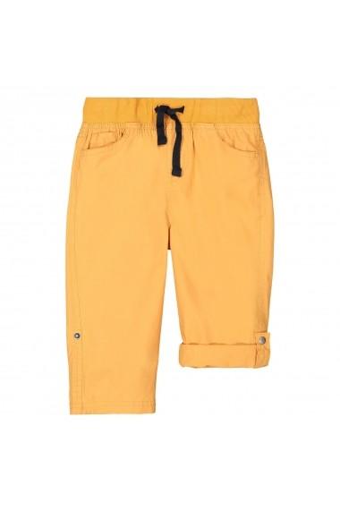 Pantaloni trei sferturi La Redoute Collections GFV845 galben