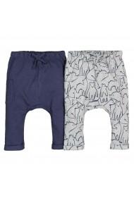 Set 2 pantaloni La Redoute Collections GGH192 bleumarin