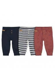 Set 3 pantaloni La Redoute Collections GGH210 multicolor