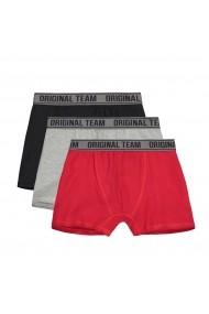Set 3 boxeri La Redoute Collections GGK888 negru