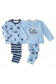 Set 2 pijamale La Redoute Collections GGD441 albastru