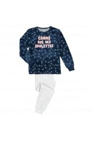 Pijama La Redoute Collections GGE135 albastru