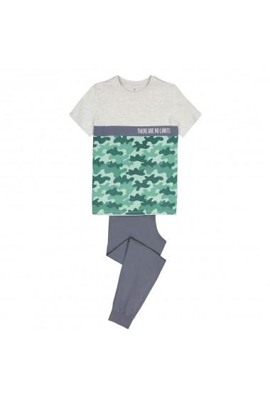 Pijama La Redoute Collections GGE255 gri