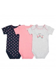 Set 3 body-uri La Redoute Collections GFJ655 multicolor
