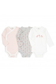 Set 3 body-uri La Redoute Collections GGD022 multicolor